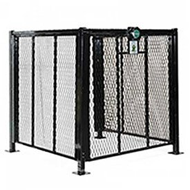 AC Protection Cage for Residential Units 3' x 3' (16' Post Mount Surface)