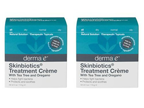 Derma E Skinbiotics Treatment Creme, 4 Ounce (Pack of 2)