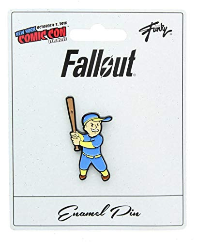 JUST FUNKY Fallout Collectibles | Vault Boy Big Leagues Perk Collector's Edition Enamel Pin Blue]()