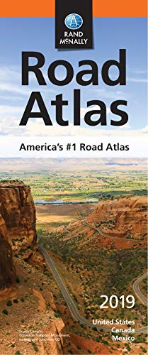 Rand McNally 2019 Compact Road Atlas (Rand McNally COMPACT Road Atlas United States, Canada, Mexico)