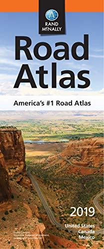 Rand McNally 2019 Compact Road Atlas (Rand McNally COMPACT Road Atlas United States, Canada, Mexico) (Road Map Of East Coast United States)