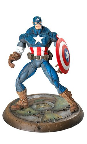 Marvel Legends Series 8 Ultimate Captain America (Marvel Legends Series 8 Ultimate Captain America)