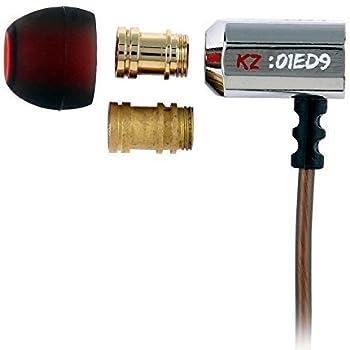 KZ ED9 Silver Tuning Nozzles In-Ear Headphones