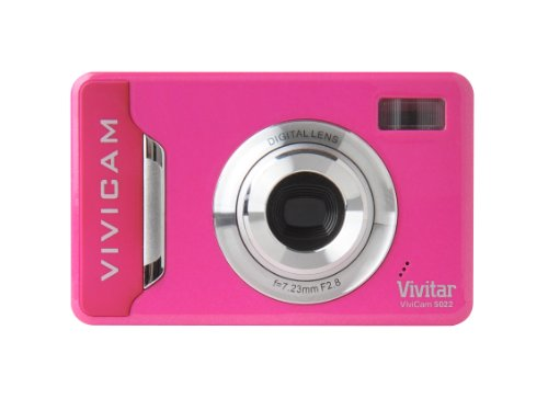 Vivitar ViviCam 5,1MP Cámara Digital–Rosa (v5022g)