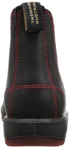 Blundstone Classic 1316, Stivaletti Unisex-Adulto Nero (Black/Red)
