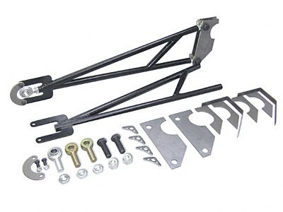 Competition Engineering C2006 Black Powdercoated Ladder Bars - Set of ()