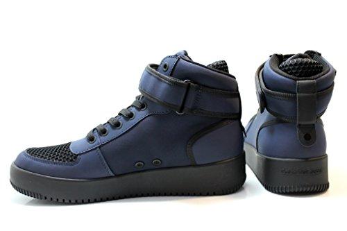 Polacchine Uomo GENT RUB SMOOTH S0498 Blu Sneakers Uomo Scarpa Sportiva Blu