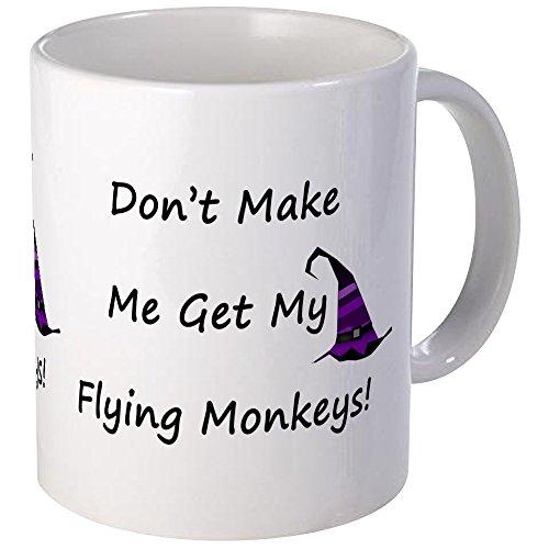 CafePress - Dont Make Me Get My Flying Monkeys! Mug - Unique Coffee Mug, Coffee Cup (Flying Monkeys In Wizard Of Oz)