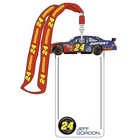 Jeff Gordon Lanyard - #24 Jeff Gordon Lanyard And Credential Holder