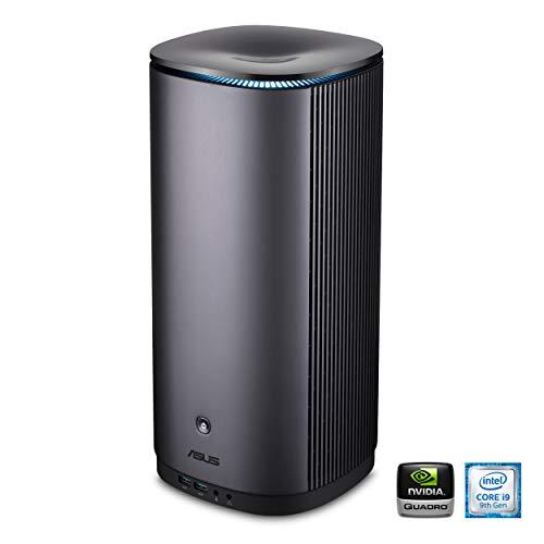 Asus Workstation - ASUS ProArt PA90 Mini PC ISV-Certified Workstation Intel i9-9900K, NVIDIA Quadro P4000, 512GB SSD, 1TB HDD, 32GB DDR4, DisplayPort, Bluetooth 5.0, Gigabit LAN, Thunderbolt 3, USB 3.1, Windows 10 Home