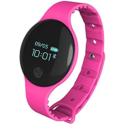 NDHUC Bluetooth Smart Watch Mens Women Bracelet Band Fitness Tracker Wristband Pedometer Sports For Ios Android Estimated Price £25.00 -