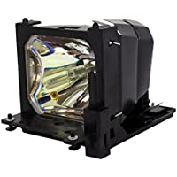 AuraBeam Professional Hitachi DT00471 Projector Replacement Lamp with Housing (Powered by Ushio)