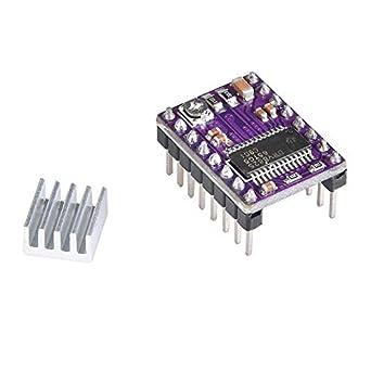 5 piezas/lote de piezas de impresora 3D Stepstick DRV8825 Stepper ...
