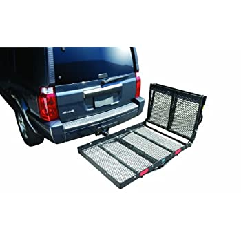 Image of Car Rack Parts & Accessories Pro Series 1040200 Cargo Ramp Only, Black