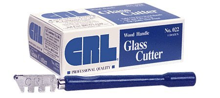 022 - CRL Wood Handle Glass Cutters