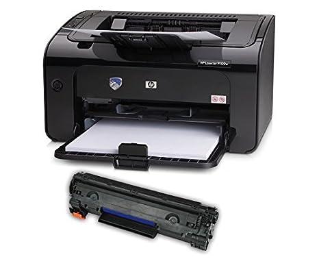 Amazon.com: HP P1102 W Printer del paquete, Negro: Office ...