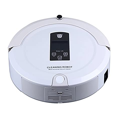 Amazon.com: PAKWANG A325 Smart Robot vacuum cleaner with 2-way ...
