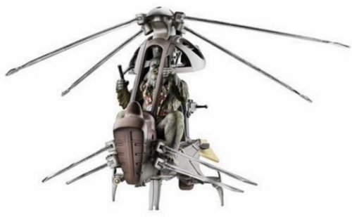Hasbro Star Wars Episode 3 Wookie Helicopter with Wookie ()
