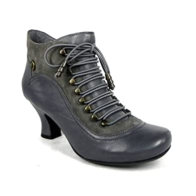 e4ed5d16f875 Hush Puppies Vivianna Womens Leather Ankle Boots Ladies kitten Heel   Amazon.co.uk  Shoes   Bags