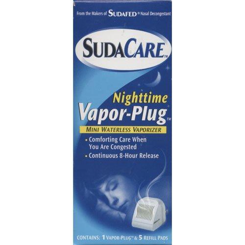 sudacare-nighttime-vapor-plug-mini-waterless-vaporizer-with-5-refills