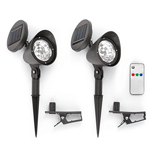 Solar Flood Lights Remote Set