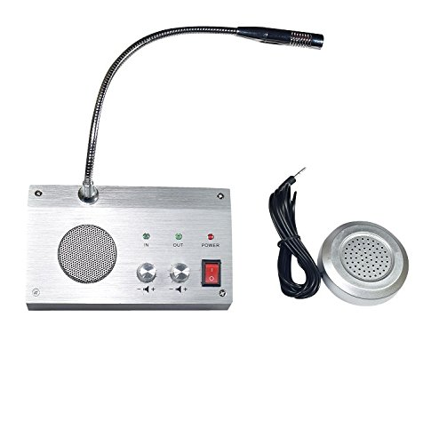 Best bank counter window intercom