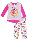 Shopkins Girls Pajamas (8, Party Pink/White)