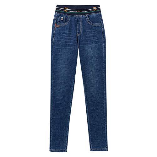 Women's Plush Fleece Warm Hip high Waist and Small feet Jeans Thick Fashion Jeans