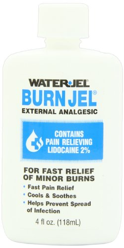 First Aid Only Water Jel Burn Jel Burn Relief, 4-Ounce Plastic Bottle (Pack of 3), Health Care Stuffs