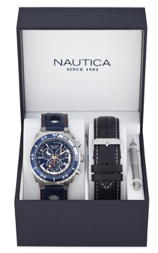 96ae72263cea Nautica N-A15663G - Reloj de cuarzo para hombre