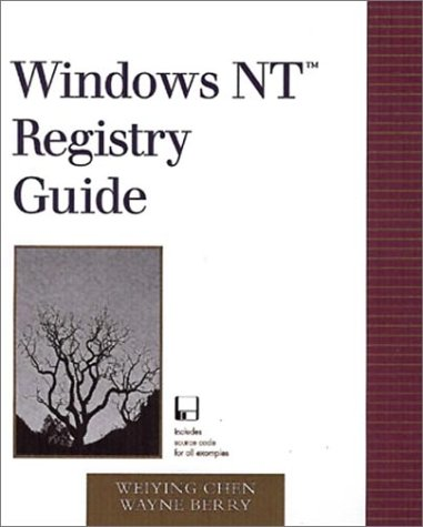 Windows Nt Registry Guide by Addison-Wesley