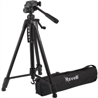 Ravelli APLT4 61-inch Light Weight Aluminum Tripod With Bag