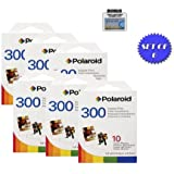 Polaroid PIF-300 Instant Film for 300 Series Cameras- 60 Total Photos + DBROTH Fiber Cloth