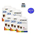 Polaroid PIF-300 Instant Film for 300 Series Cameras- 60 Total Photos + DBROTH Fiber Cloth