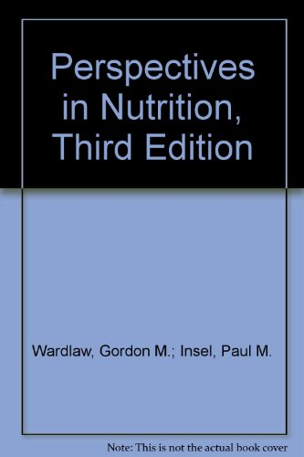 Perspectives in Nutrition, Third Edition