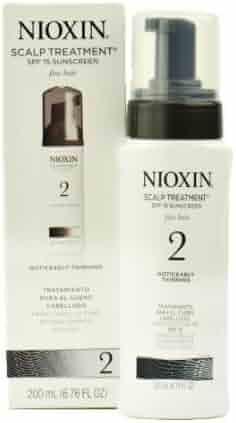 Nioxin Scalp Treatment for Fine Hair System 2 for Hair , 6.76 oz