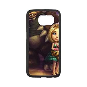 Samsung Galaxy S6 Cell Phone Case White League of Legends Prom Queen Annie SH3816852