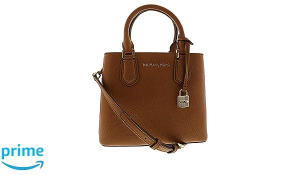 469045073f43 Amazon.com: Michael Kors Women's Adele Medium Leather Messenger Bag Cross  Body - Luggage: Michael Kors: Shoes