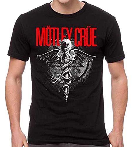 H3 SPORTGEAR Motley Crue Men's Dr. Feelgood T-Shirt XL,Black