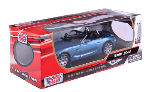 - 1:18 BMW Z4 (color may vary)