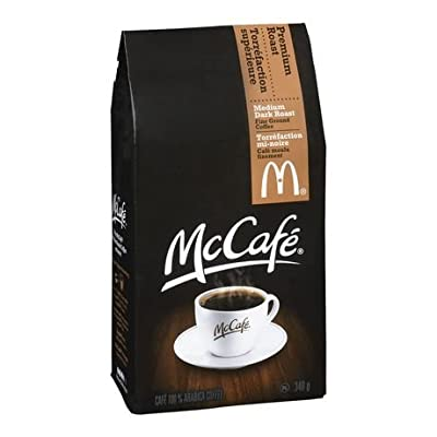 McDonalds McCafe Premium Roast Ground Coffee Bag 12.oz by MaDonalds Coffee