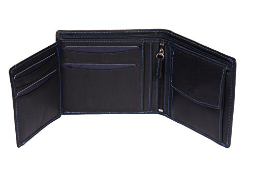 Auckland Real Cash Coins Slots Gift Boxed Leather Large Card Black Wallet Bifold House Mens Nine Of Leather CqwZ1S
