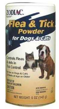 Pet Zodiac Flea & Tick Powder for Dogs, Puppies, Cats, and Kittens, 6-ounce, dogs, flea, tick, products Supply Store/Shop