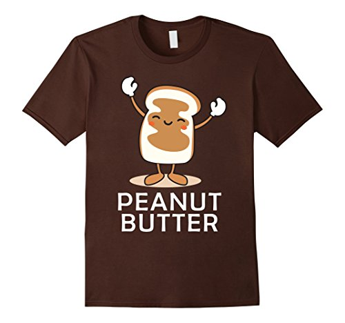 Mens Peanut Butter Halloween Couples Bff tee Easy Costume Jelly XL (Cute Bff Costumes)