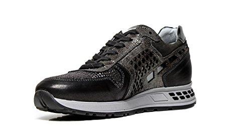 Donna Grigio Giardini Sneakers 105 A616182D Nero wEgq0E