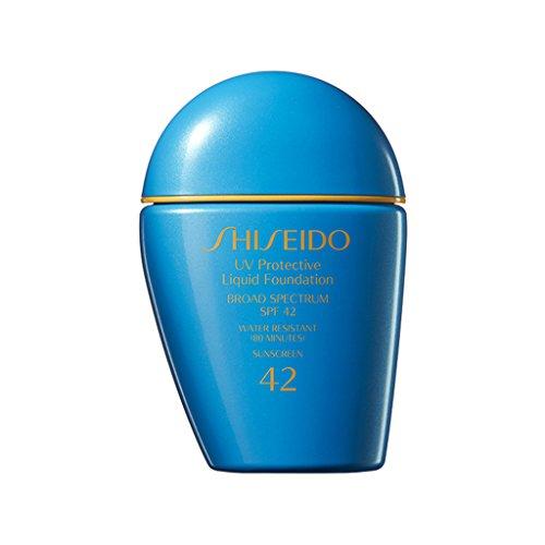 Shiseido UV Protective Liquid Foundation SPF 42 For Face - Medium Beige New - 42 Liquid