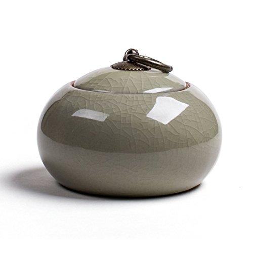 Fabura Ceramics Pet Urn Cremation Urns Memorial Pet Loss Urn Mini Keepsake Funeral Urn for Your Dog, Cat, Bird, Ferret, or Small Animal - Display Burial Urn at Home or Office