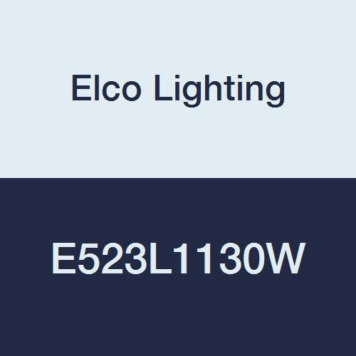 Elco Lighting E523L1130W 5'' Adjustable Pull Down LED Light Engine, 3'' Height, 6'' Length, 3.25'' Width, 16W, White
