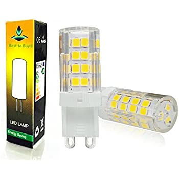 Best To Buy 5 Pack Led G9 Dimmable 4 5w 110 130v