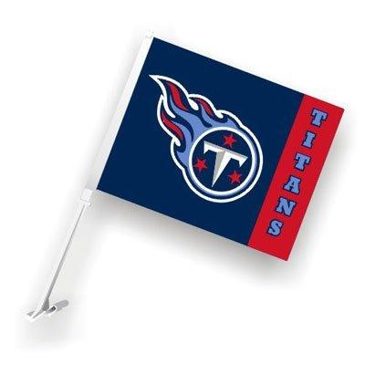 Fremont Die Tennessee Titans Car Flags - 1 Pair